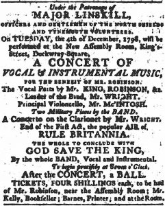Major Linskill patron - Assembly Rooms - Courant - 1798 - low-res 125kb